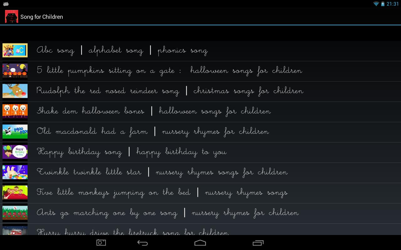 Songs-for-Children 8