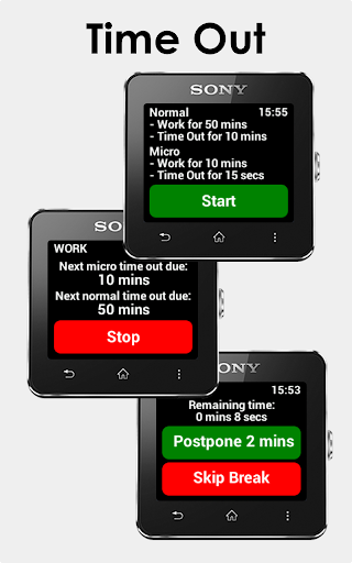 Time Out SmartWatch