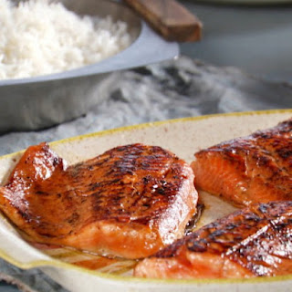 Seared Soy-Sesame Arctic Char.