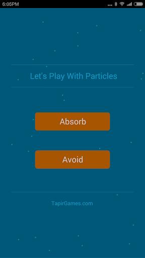 来,让我们玩粒子游戏