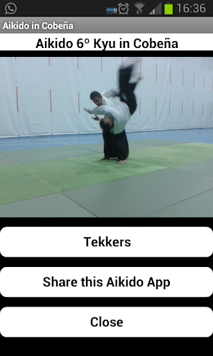 Aikido 6º Kyu en Cobeña
