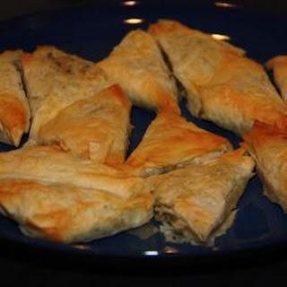 Tuna and Leek Triangles Recipe