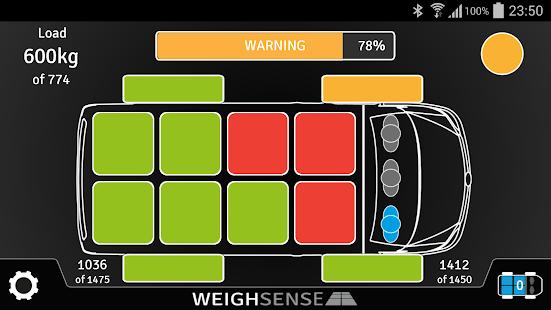 WeighSense - náhled