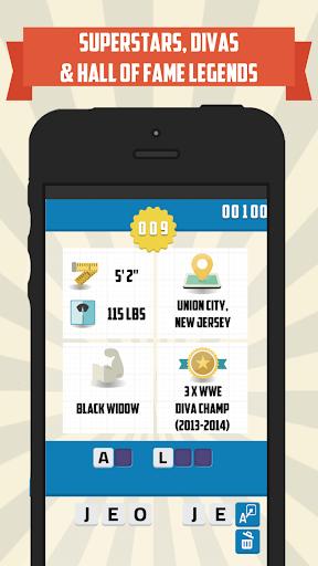 免費下載拼字APP|100 Wrestlers - Trivia Quiz app開箱文|APP開箱王