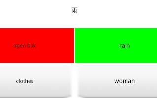 Screenshot of CoBa Chinese Radicals