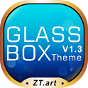 Glass Box GO Getjar Theme icon