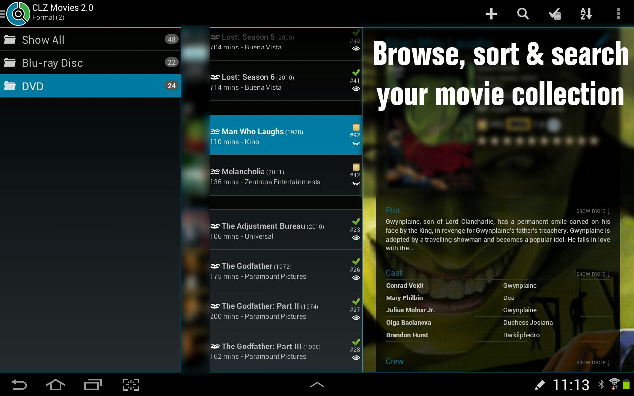 CLZ Movies - screenshot