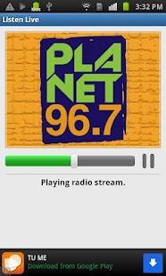 Planet 96.7 - screenshot thumbnail