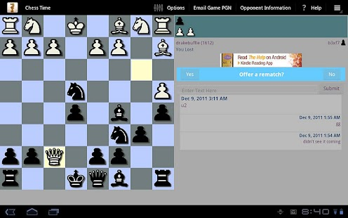 Chess Time™ -Multiplayer Chess- screenshot thumbnail