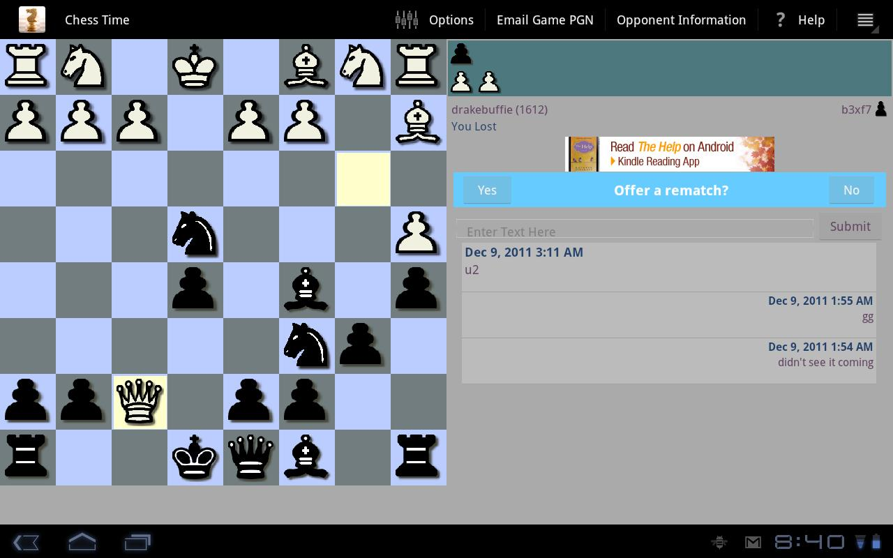 Chess Time™ -Multiplayer Chess- screenshot