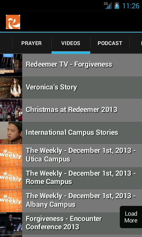 Redeemer Church- screenshot