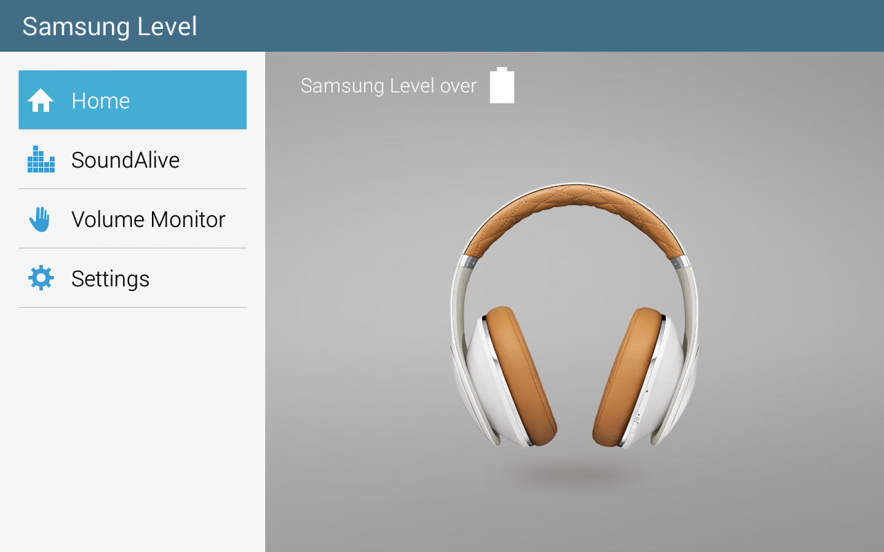 Samsung Level for Tablet- screenshot