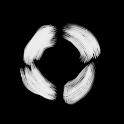 Freehand B'n'W Circles CM/AOKP icon