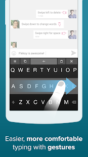 Fleksy Keyboard Trial - screenshot thumbnail