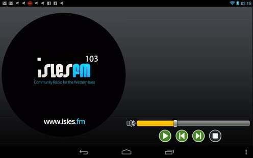IslesFM- screenshot thumbnail
