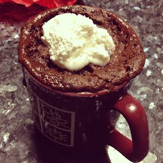 Microwave Coffee Mug Brownies.