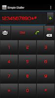 Screenshot of Simple Dialler