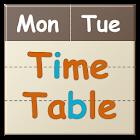 時間割カレンダーFree icon