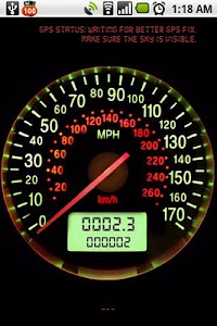 Speedometer screenshot 1