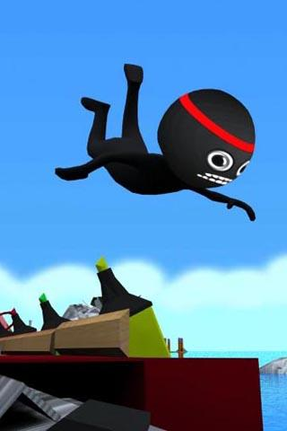 Stickman Run: 1 2 3 Go Running- screenshot