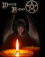 Screenshot of Wicca Radio