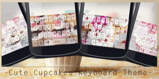Cute Cupcakes Keyboard Theme