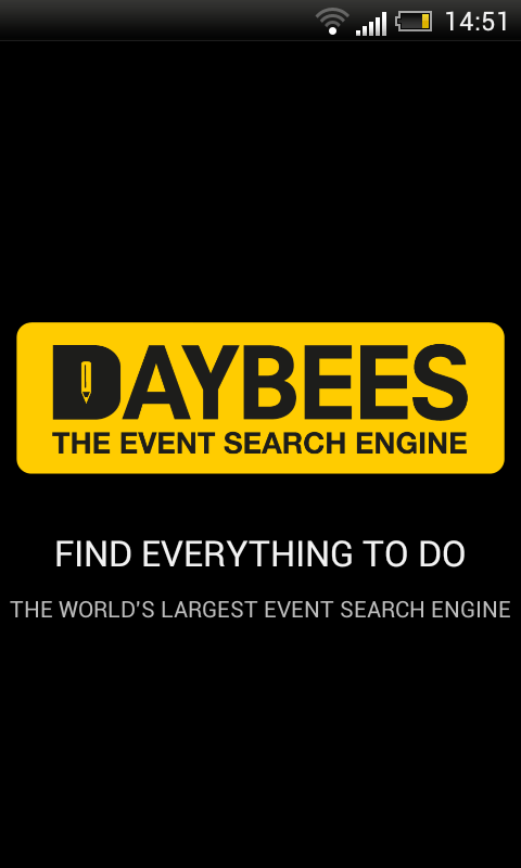 Daybees Event Finder - screenshot