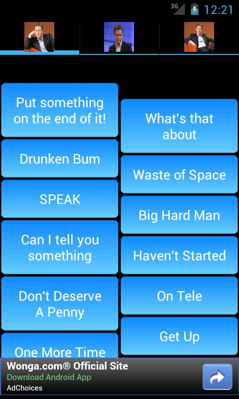 Jeremy Kyle SoundBoard - screenshot