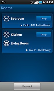 Sonos Controller for Android - screenshot thumbnail