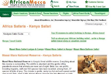 Masai Mara Safari Guide screenshot 0