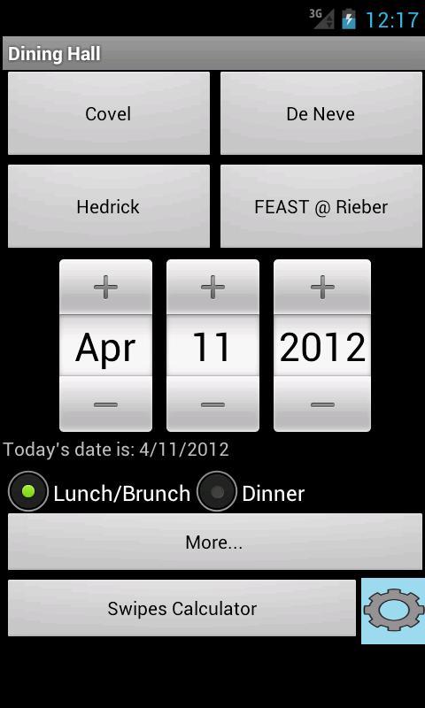 UCLA Dining Halls- screenshot