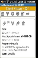 Screenshot of Real Estate Agent ON GO