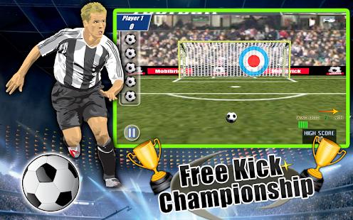 Free Kick Championship screenshot