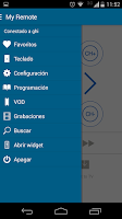 Screenshot of My Remote for Movistar Chile