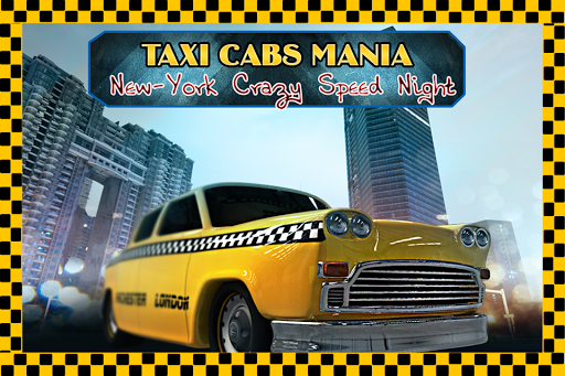 Taxi Cabs Mania: Crazy Night