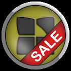 Next Launcher Bio Yellow Theme icon