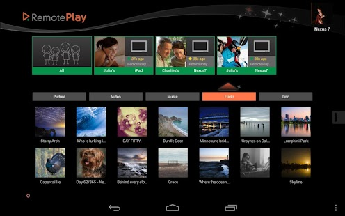 RemotePlay for Tablets - screenshot thumbnail