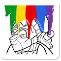Coloring Page Lego icon