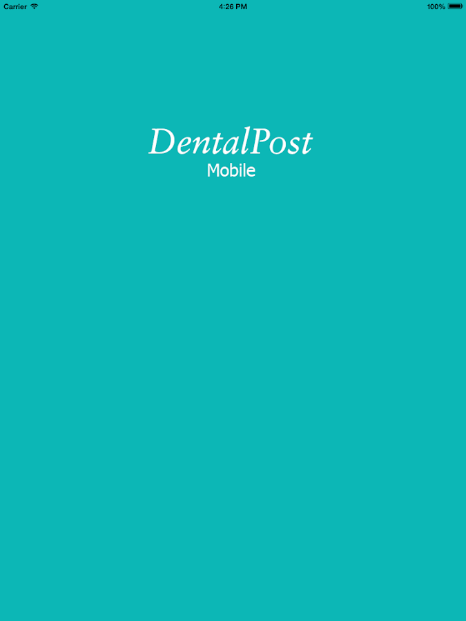 DentalPost Mobile - screenshot