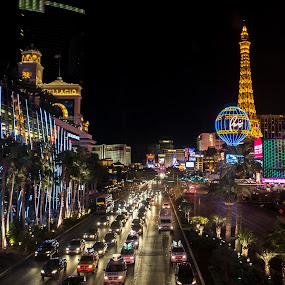 Vegas, strip by Sarah Poirier - Novices Only Objects & Still Life