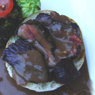 Bavette de Boeuf in Wine Sauce