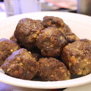 Middle Eastern Spiced Lamb Meatballs.
