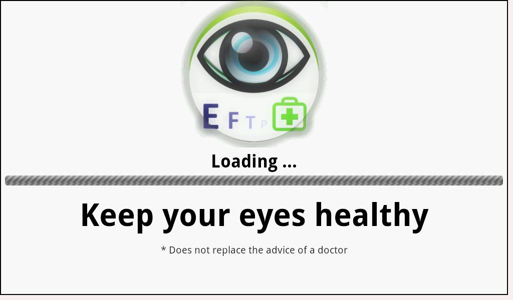 Eye exam android apps on google play eye exam screenshot solutioingenieria Image collections