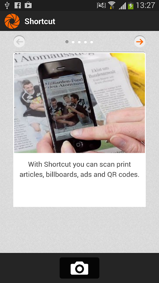 Shortcut Reader- screenshot