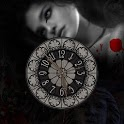 Vampire Midnight Girl Kiss LWP icon