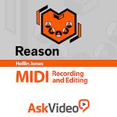 Record & Edit MIDI in Reason