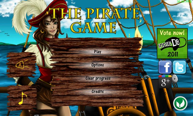 The Pirate Game (Free) - screenshot