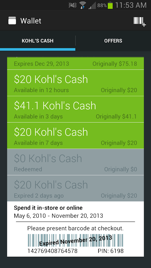 Kohl's - screenshot