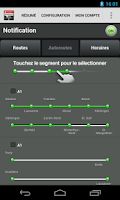 Screenshot of Swiss Traffic Messenger
