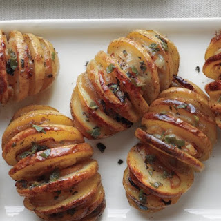 Shallot-Sage Accordion Potatoes